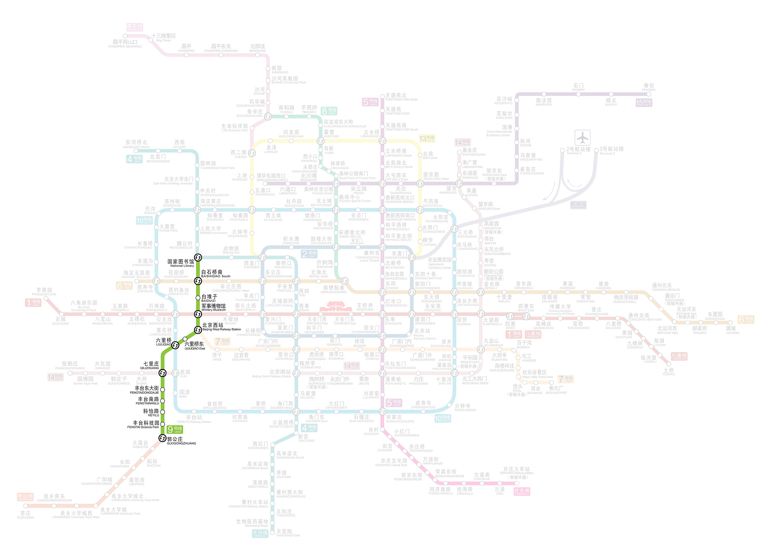 Beijing Subway Line 9