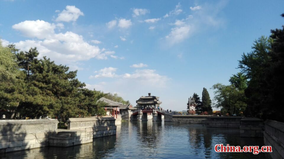 Summer Palace in April