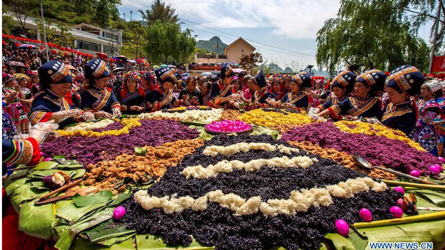 Various events held to celebrate Sanyuesan Festival across China