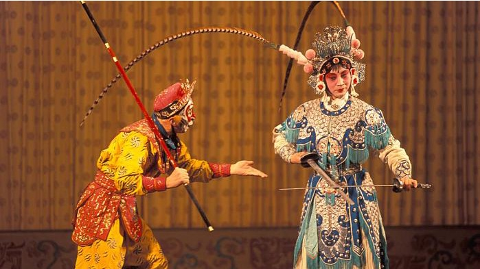 2018 CNPOC Performances of Excellent Martial Arts Plays Held in Mei Lanfang Theatre