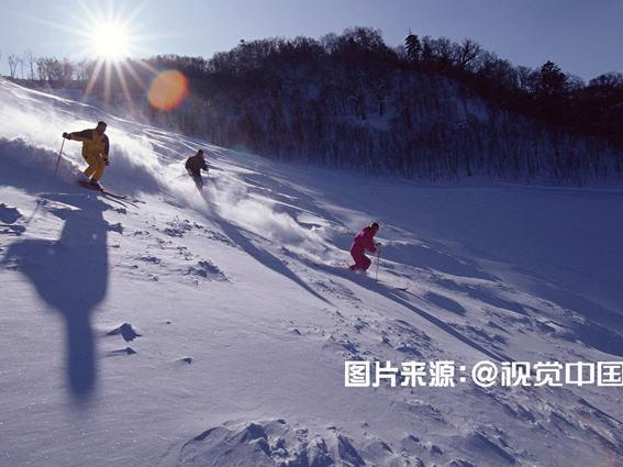 Das Snow World Ski Resort of Beijing