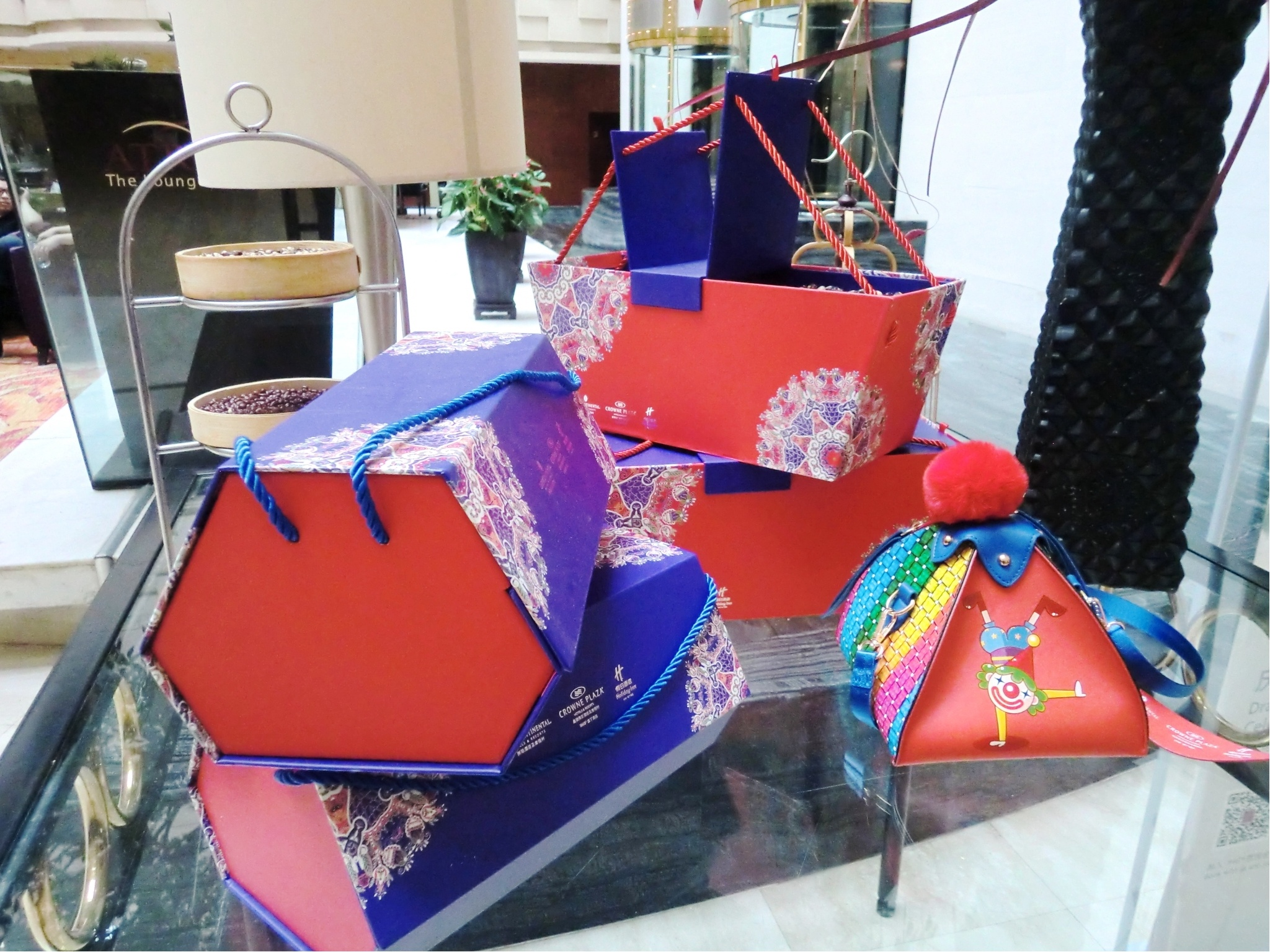 Rice Dumpling Gift Boxes at Crowne Plaza Beijing Wangfujing For sale to Celebrate Dragon Boat Festival