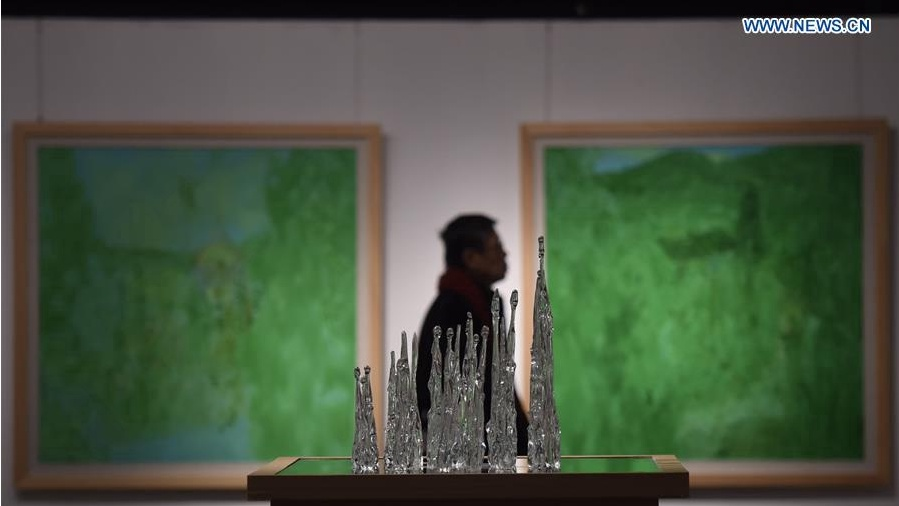 Exhibition of Chinese art opens in Beijing