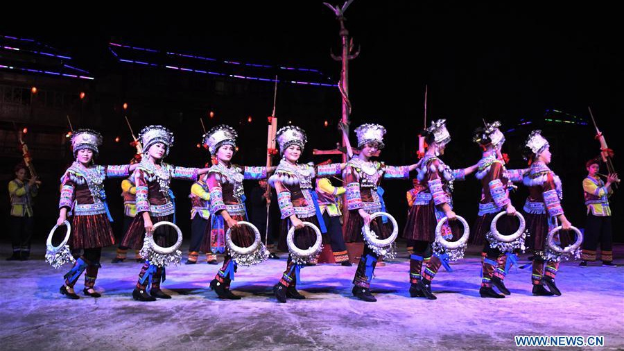 Disover life of Miao ethnic group from performance